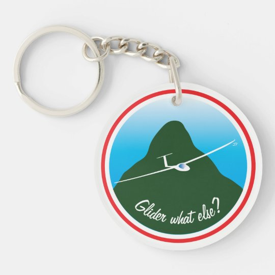 Glider - What else? Keychain