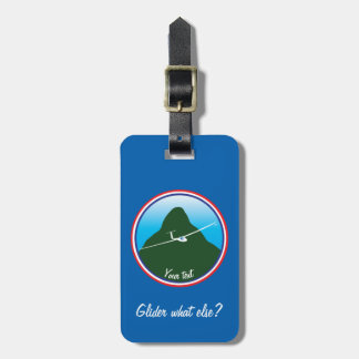 Glider - What else? Luggage Tag