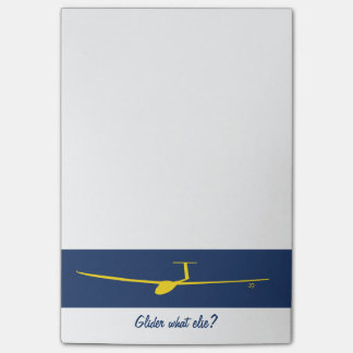 Glider - What else? Post-it Notes