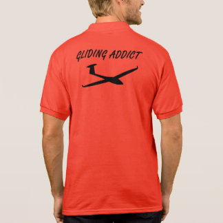 Gliding addict polo shirt