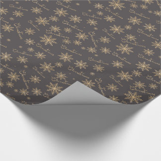 Glimmering Christmas Wrapping Paper