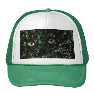 Glimmering Eyes in Glade Trucker Hat