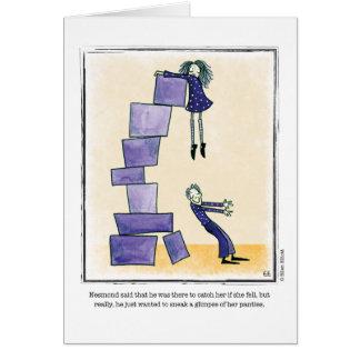 GLIMPSE cartoon by Ellen Elliott Card