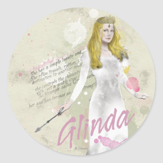 Glinda The Good Witch 4 Round Sticker