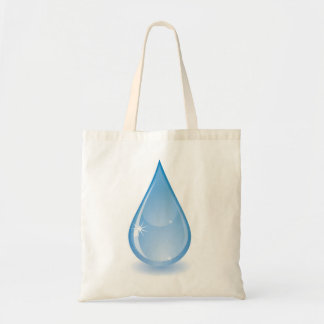 Glistening Water Drop Tote Bag