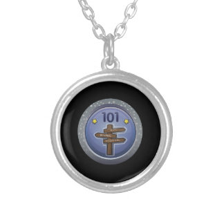 Glitch: achievement affable anthony silver plated necklace