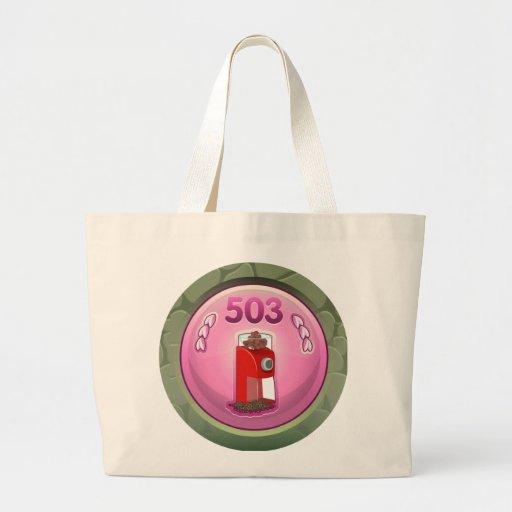 Glitch: achievement assistant spice manager canvas bag