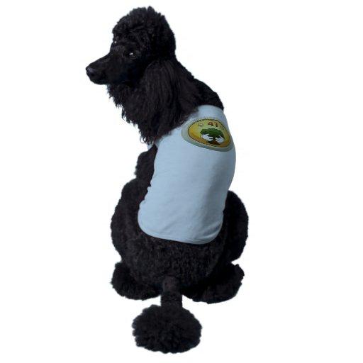 Glitch: achievement decent tree hugger dog tshirt