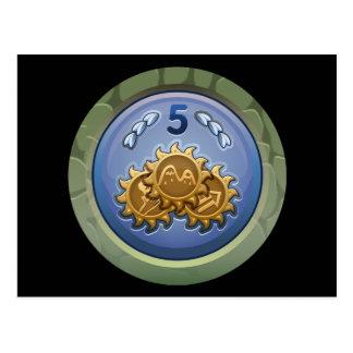 Glitch: achievement fledgling crest collector post card