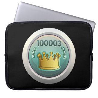 Glitch Achievement monarch of the seven kingdoms.p Laptop Sleeve