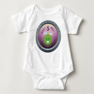 Glitch Achievement numismatizer leprechaun class.p Baby Bodysuit