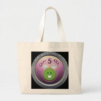 Glitch Achievement numismatizer leprechaun class.p Large Tote Bag