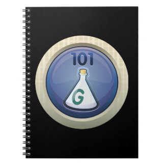 Glitch Achievement occasional gas fancier Spiral Note Book