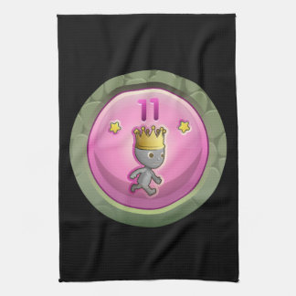 Glitch Achievement order of the rearing piggy Hand Towel