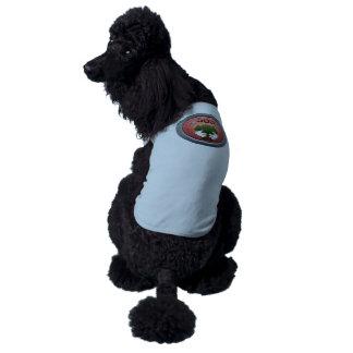 Glitch: achievement tree hugger dog tshirt