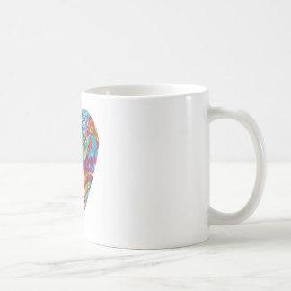 Glitch Art Heart #2 Coffee Mug