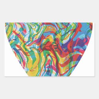 Glitch Art Heart #2 Sticker