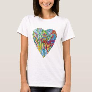 Glitch Art Heart #2 T-Shirt