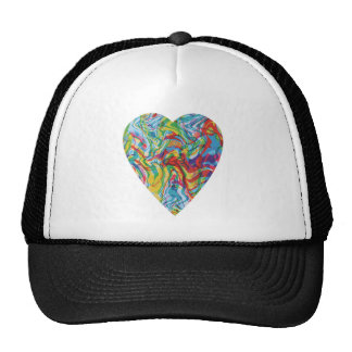 Glitch Art Heart #2 Trucker Hat