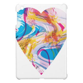 Glitch Art Heart iPad Mini Cases