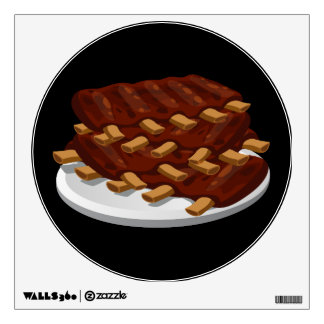 Glitch Food abbasid ribs Wall Sticker