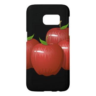 Glitch Food apple Samsung Galaxy S7 Case