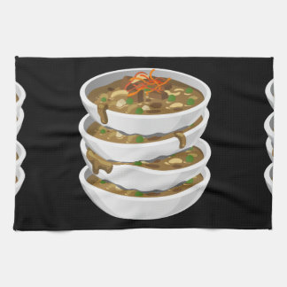 Glitch Food awesome stew Kitchen Towel