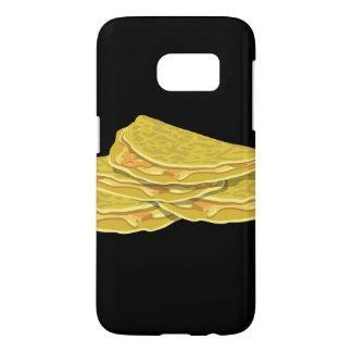 Glitch Food basic omelet Samsung Galaxy S7 Case