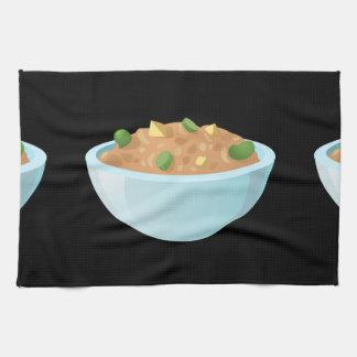 Glitch Food best bean dip Kitchen Towel