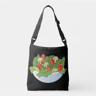 Glitch Food big salad Crossbody Bag