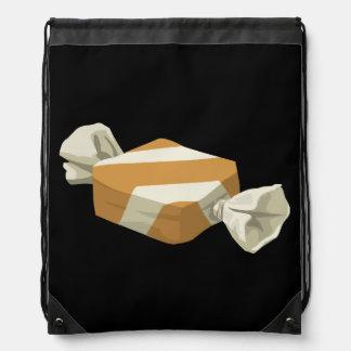 Glitch Food birch candy Drawstring Bag