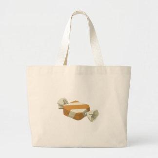Glitch Food birch candy Large Tote Bag