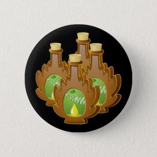 Glitch Food birch syrup 2 Inch Round Button