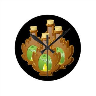 Glitch Food birch syrup Clock