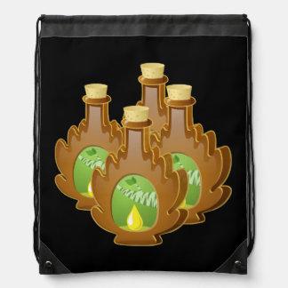 Glitch Food birch syrup Drawstring Bag