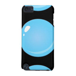 Glitch Food blue bubble iPod Touch 5G Covers