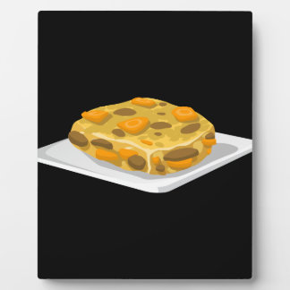 Glitch Food bubble and squeak Plaque