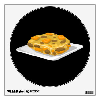 Glitch Food bubble and squeak Wall Sticker