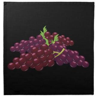 Glitch Food bunch of grapes Napkin
