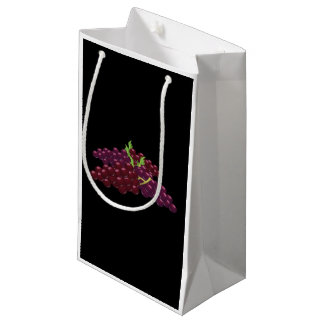 Glitch Food bunch of grapes Small Gift Bag