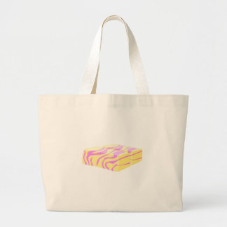 Glitch Food butterfly butter Large Tote Bag