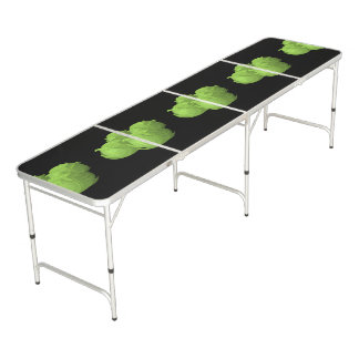 Glitch Food cabbage Beer Pong Table