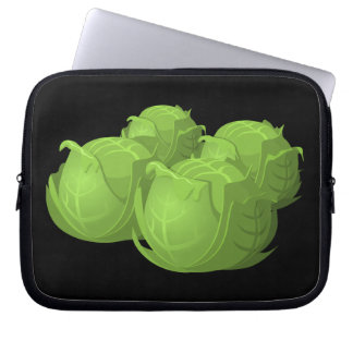 Glitch Food cabbage Computer Sleeves