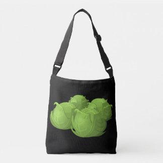 Glitch Food cabbage Crossbody Bag