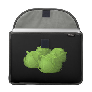 Glitch Food cabbage Sleeve For MacBook Pro