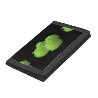 Glitch Food cabbage Trifold Wallets