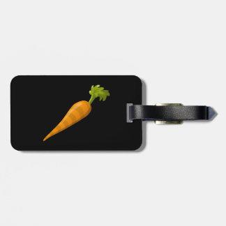 Glitch Food carrot Luggage Tag
