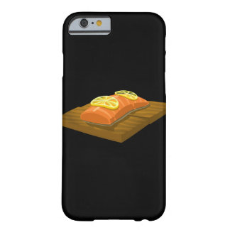 Glitch Food cedar plank salmon Barely There iPhone 6 Case