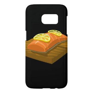 Glitch Food cedar plank salmon Samsung Galaxy S7 Case