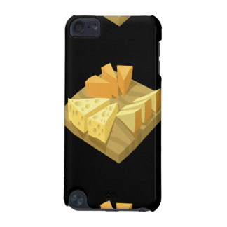 Glitch Food cheese plate iPod Touch 5G Cover
